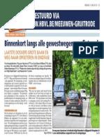 HBVL 07/06/'13 - Fietspadendossiers Meeuwen-Gruitrode in eindfase