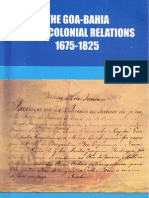 Foreword to «The  Goa-Bahia Intra-Colonial Relations 1675-1825» by Philomena Sequeira Antony (2004)