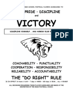 FB Team Rules (2012)