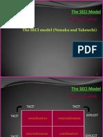 The SECI Model-Nonaka's Knowledge Conversion Model