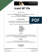 Bricasti M7 Release Notes