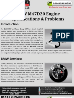 BMW M47D20 Engine
