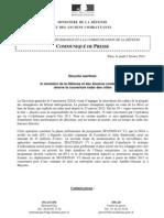 CP DGA Securite Maritime Couverture Radar Des Cotes