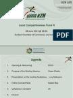 LCF IV Presentation for May 2013