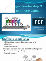 Strategic Leadership & Corporate Culture
