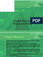 Ch 15 Capital Structure