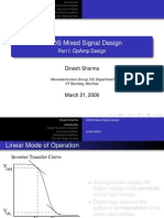 CMOS MIXED SIGNAL DESIGN PART 1