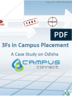 3Fs in Campus Placement A Case Study on Odisha