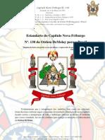 Estandarte Capítulo Nova Friburgo da Ordem DeMolay para o Brasil Copy