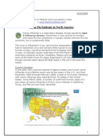 Swine Flu in North America