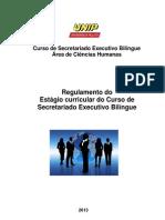 Reg de Estagio Curricular Obrigatorio Do SEB 2013 (1)