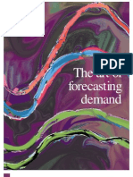 The Art of Forecasting Demand