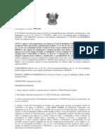 PORTARIA Nº 09 PL REGULAMENTAÇÃO PROFISSÃO  CORPO BOMBLEIROS