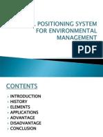 GPS for Environmental Management