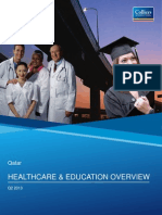Colliers International - Qatar Healthcare Education Overview May 2013