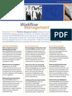 Workflow Datasheet