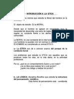 Apuntes de Etica Primera Prueba 2012