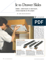 Guide to Drawer Slides, A Pain-Free Slide Installation