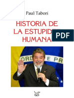 Paul Tabori Historia de La Estupidez Humana