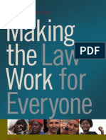Making the Law Work for Everyone - Report of the Commission on Legal Empowerment of the Poor - Volume 1_0