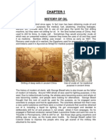 Chapter-1 History of Oil