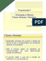 II 14 OO Classes Abstratas
