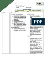 SL Lesson Plan FFF