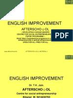 English Improvement 7 Novemberi