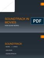 Film Studies - Soundtrack in Movies