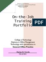 Portfolio Practicum I (Darius Novelo)