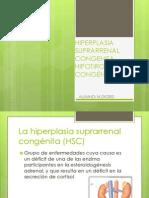HIPERPLASIA SUPRARRENAL CONGENITA-HIPOTIROIDISMO CONGÉNITO
