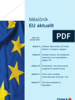 EU Aktuality, Červen 2013, Analýza automobilového průmyslu v ČR  (www.csas.cz)