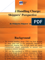 Terminal Handling Charge Shippers Perspective 2005