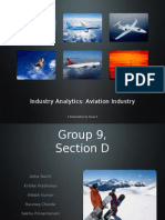A report on aviation industry, Group Presentation , Alliance Business School