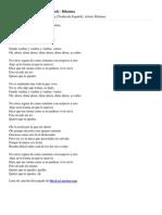 Letra Stay [Traducida Español] - Rihanna - DiceLaCancion-com