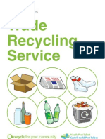 Trade Recycling Leaflet