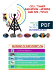 Mobile Tower and Mobile Phone Radiation Hazards - Prof Girish Kumar - June 2013