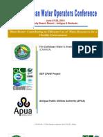 CAWASA 3rd Water Operators Conference 2013 - Program of Activities