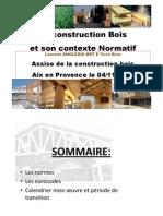B3-1 Construction Bois Contexte Normatif