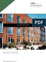 Confort 50 - portes et fenêtre en aluminium - Sapa Building System