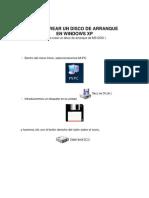 Como Crear Un Disco de Arranque Para Windows Xp