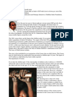 Child Labour and India