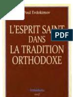 l Esprit Saint Dans La Tradition Orthodoxe