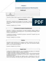 Passo 4 - Modelo - Pré-Projeto (2)