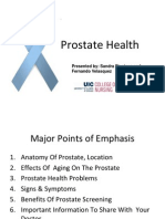 Prostate Health Presentation