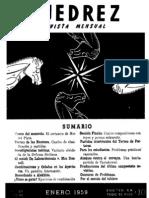Ajedrez 57-Ene 1959