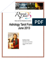 Astro Tarot - June 2013