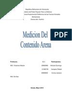 MEDICIÓN DEL CONTENIDO DE ARENA.docx informe de yacimiento II
