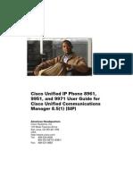 Cisco Phone User Guide