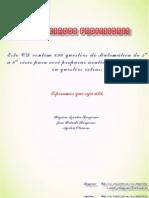 BONJORNO - PROBLEMAS DE MATEMÁTICA -  5ª a 8ª